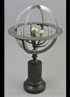 French mid-19th Century Planetarium, Armillary Sphere, Sphère Armillaire, Orrery