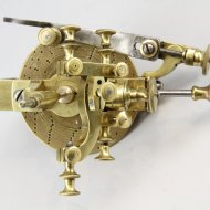 Escape wheel cutter for verge pocket watches