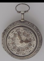 Amsterdam pocket watch, signed: ' J. Pieter Kroese, Amsterdam'.