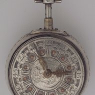 Dutch pocket watch with quarter-striking, signed: ' J. Pieter Kroese, Amsterdam'.