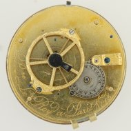 Decimal pocket watch from the beginning of the French-Revolution.