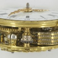 Dutch pocket watch movement, 'B. Vermeulen, Amsterdam'