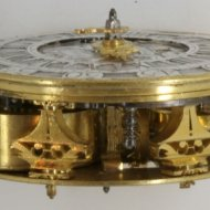 Dutch pocket watch movement, 'Nicolaes Vermeule, Rotterdam'.