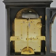 English bracket clock from 'Percival Man, London'.