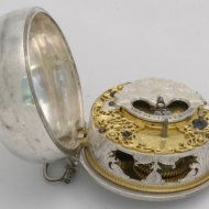 Dutch pocket watch, William Gib, Rotterdam, nr 136'.