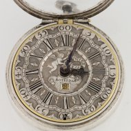 Dutch silver pocket verge pocket watch by 'Cornelis Uijterweer, Rotterdam No. 213' (Cornelis Uyterweer)