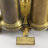 Antique french vacuum pump by Babinet