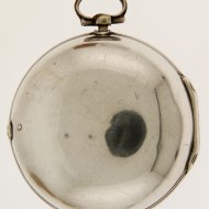 Antique dutch silver pair case verge pocket watch in Rotterdam style from 'Daniël Soeterik, Breda', nr 85