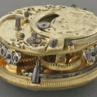 Dutch pocket watch, 'Cornelis Romeyn, Rotterdam, nr 6'.