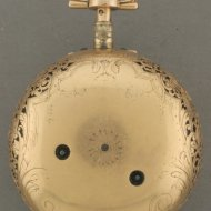 Gold dutch pocket watch 'Steven Hoogendijk, Rotterdam, No. 13 E'