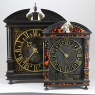 Hague Clock by Pieter Visbagh (or Pieter Visbach) ca. 1680,
