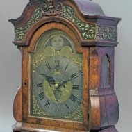 Bracket clock 'Theunis Haakma, Leeuwarden' with day and date. ca 1750.